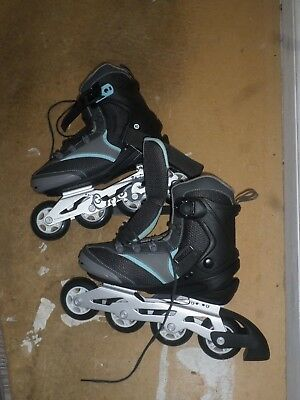 Oxelo ILS Fit4 Womens Inline Roller blades_UK 6.5_Used_Bargain
