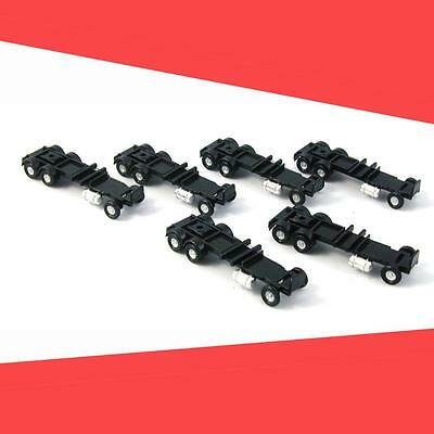 TRACTOR CHASSIS LONG WHEEL BASE (6)   CON-COR N Scale