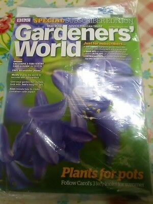 BBC Gardener's World Brand New special Subscribers Edition Magazine May 2013