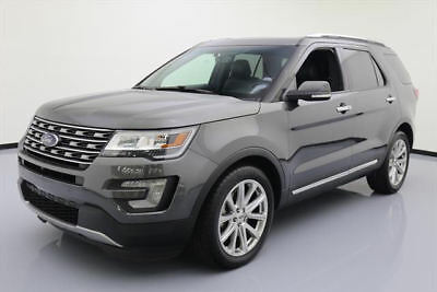 2016 Ford Explorer  2016 FORD EXPLORER LTD PANO ROOF NAV LEATHER 20'S 44K #C09056 Texas Direct Auto