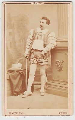 Stage CDV-FELIX PUGET, Operetta singer who sang Strauss by FRANCK OF PARIS