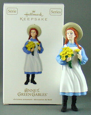 New Hallmark Anne of Green Gables 1st in Series Canadian Exclusive Ornament 2012