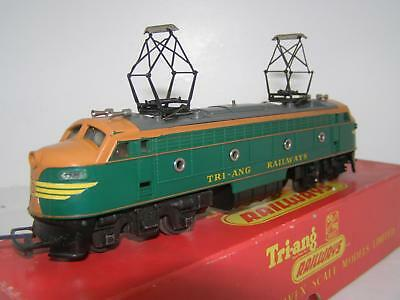 Triang R257 Twin Pantograph Double End Loco Rare !!