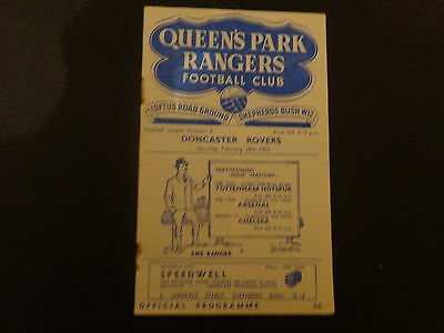 QUEENS PARK RANGERS v   DONCASTER ROVERS  1951/2