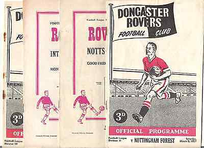 DONCASTER ROVERS v NOTTS COUNTY   1954/5