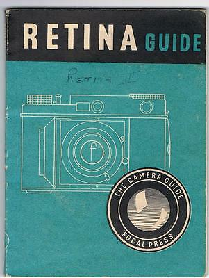 Camera Guide Focal Press - Retina Guide By Wd Emanuel Second Edition 1947