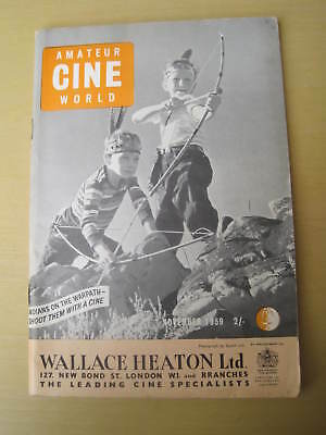 Amateur Cine World November 1959 Magazine