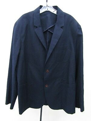 Vince Men's Navy Blue Blazer Jacket Size XL NWT