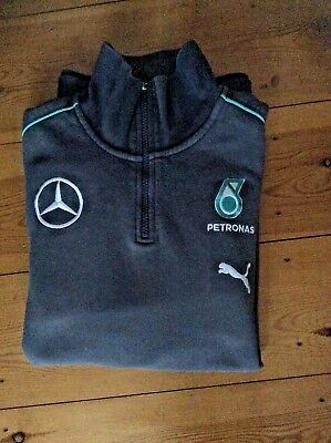 Genuine Men's Mercedes Amg Petronas Puma Formula 1/ F1 Team Fleece  Size:large