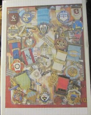 Masonic Jewel 1000 Piece Jig Saw Puzzle New And Very Interesting To Complete