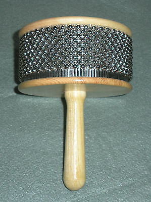 New Hand Held Afuche Cabasa Percussion Instrument