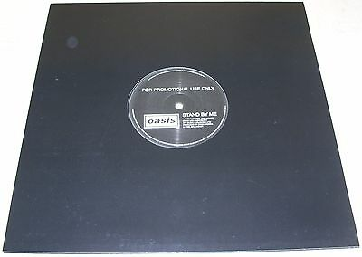 "OASIS - Stand By Me / The Fever 12"" HMV Promotional Limited Liam Noel Gallagher"