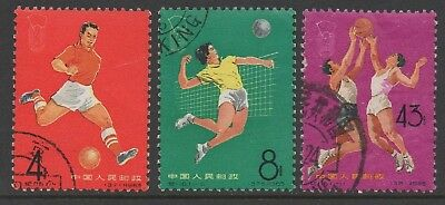 M_______Peoples Republic Of China Used #863, #867, #873 Cv $22