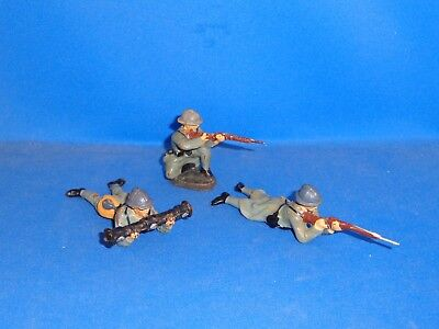 Group of Elastolin French Toy Soldiers #3