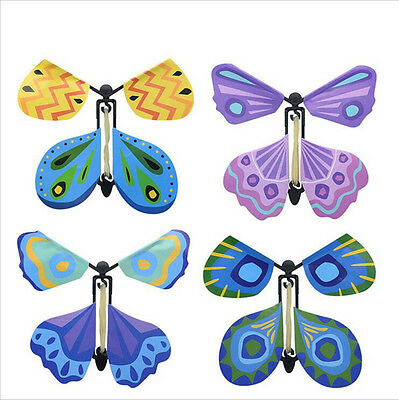Magic Flying Butterfly Easy To Do Magic Tricks Props Toys For Children Gift FG