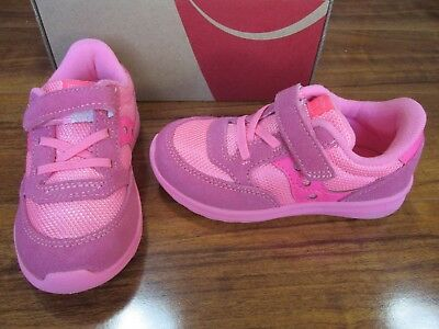 NEW Saucony Baby Jazz Lite Coral PINK Sneakers Toddler US 9 ST56458 $38.00