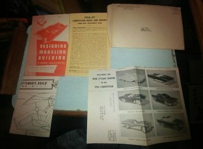 1957 Fisher Body Craftsmans Guild Design & Build a Model Car complete w envelope