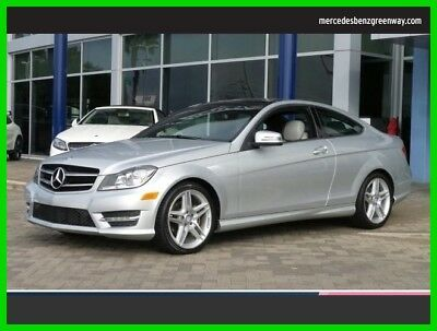 2014 Mercedes-Benz C-Class C 250 2014 C 250 Used Certified Turbo 1.8L I4 16V Automatic Rear Wheel Drive Coupe