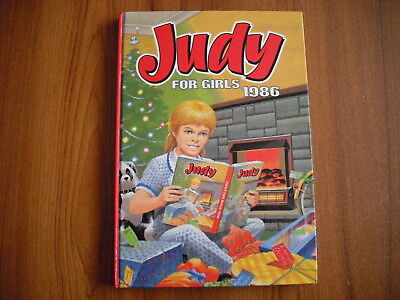 Judy For Girls - Annual 1986