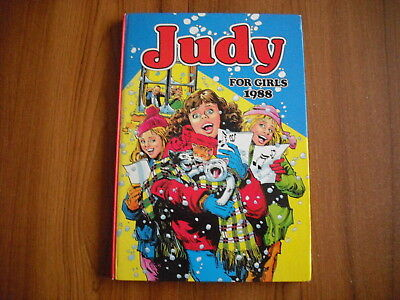 Judy For Girls - Annual 1988