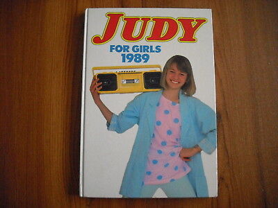Judy For Girls - Annual 1989