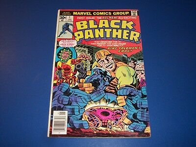 Black Panther #1 Bronze age Kirby 1st Issue Key Wow Solid Fine