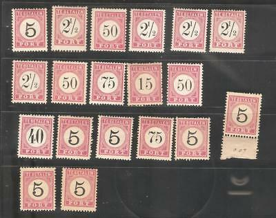 Z13 India Netherlands Inde Neerlandaise beautiful small mixed condition lot