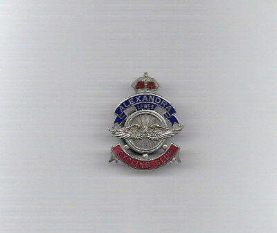 Very Rare Badge - LEWES ALEXANDRA CYCLING CLUB (Sussex) by Vaughton and pre WW1