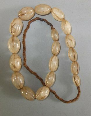 Necklace Strand Old Crystal Beads Nepal