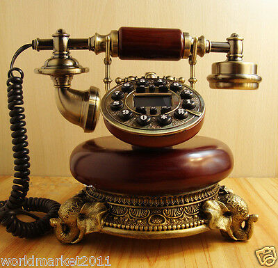 High Grade and High Quality European Style Antique Ancient Dial Telephone