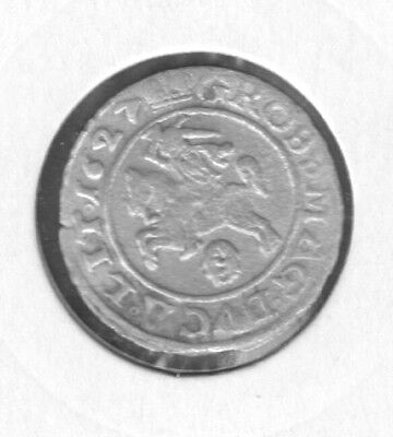 Lithuania 1627 20Mm Base Silver Groschen Auction Starts At £1