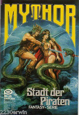 MYTHOR Fantasy Nr. 15 / (1980-1986 Pabel) / STADT DER PIRATEN