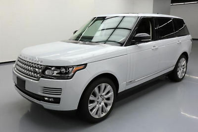 2015 Land Rover Range Rover Supercharged Sport Utility 4-Door 2015 LAND ROVER RANGE ROVER SUPERCHARGED L 4X4 NAV 22K #242168 Texas Direct Auto