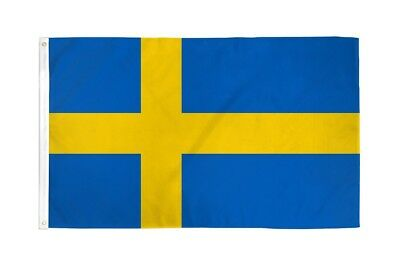 3x5 Sweden Flag Swedish Banner Country Pennant New Indoor Outdoor