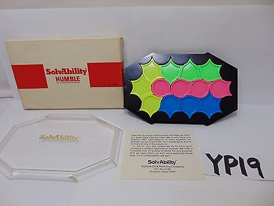 Vintage Humble Oil Company Advertising Solvability Game-Mind-Strategy Rare