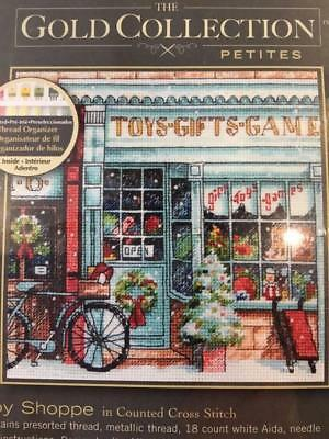 Cross Stitch  Dimensions Gold Collection Toy Shop New And Factory Sealed