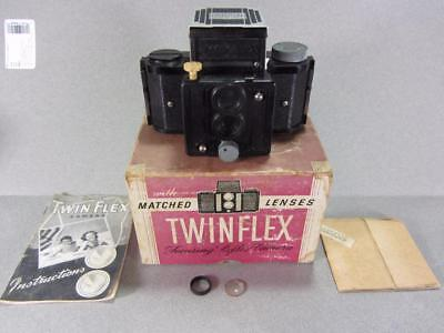 Vintage Univex Twinflex Matched Lense Camera by Universal Camera NO. T-25