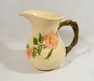 Franciscan China Pottery DUSTY ROSE 6 1/2 inch JUG  Milk PITCHER 28 oz.