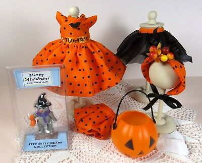 "Handmade Trick or Treat dress ensemble for 8"" Madame Alexander, Ginny & more!"