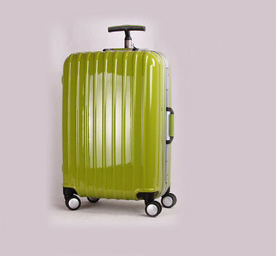 """24"""" Green ABS+PC Universal Wheel Password Travel Suitcase / Trolley luggage."""