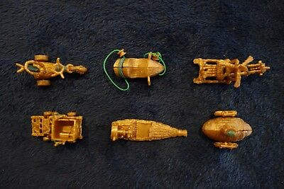 Yowies Series 7 Adventure Ser 2 Limited Set of Golden Transporters (6) + Papers