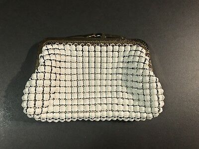 Vintage Authentic Park Lane Glomesh Purse..As New.. White