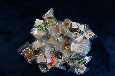 Yowie Series 6&7 (Adventure Series 1&2) Spares (50 in total) Yowies with Papers