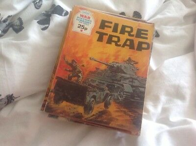 Comic War Picture Library Fire Trap Number 1962