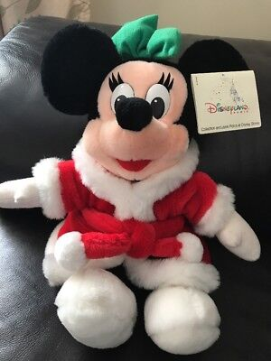 Disney Minnie Mouse Christmas Teddy