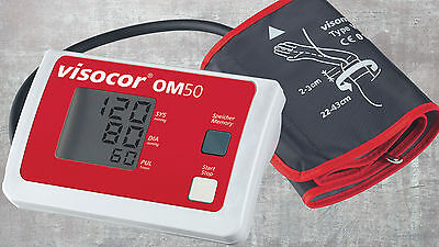 visocor OM 50 Fully Automatic Upper Arm Blood Pressure Monitor - NIP from med.