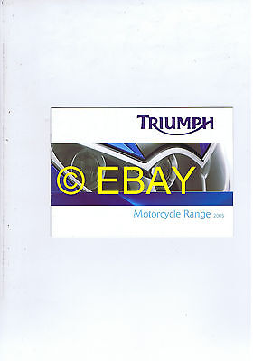 Catalogue Triumph 2005 gamme (France) (T3860042)