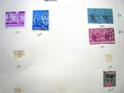 Selection Of Unchecked Early Mauritius Stamps