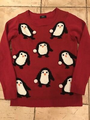 Girls Christmas Jumper Age 10-11 Years