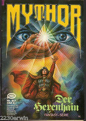 MYTHOR Fantasy Nr. 87 / (1980-1986 Pabel) / DER HERENHAIN